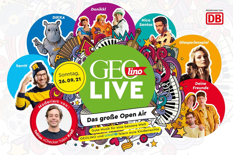 GEOlino LIVE Open Air am 26.09.2021: GEOlino macht Musik!