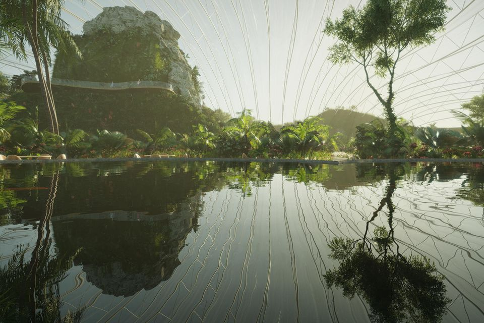 Gewässer im Tropicalia