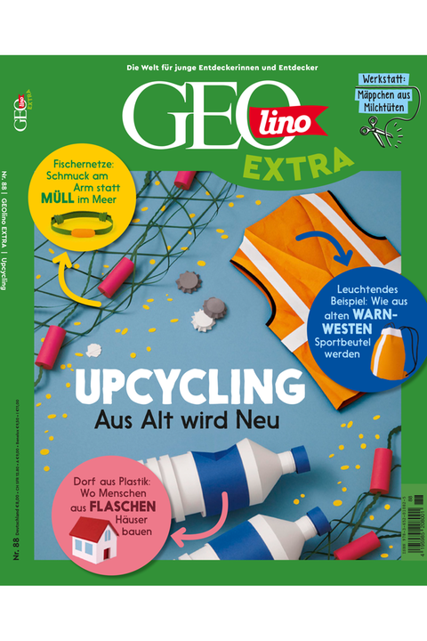 Das Cover von GEOlino Extra Nr. 88 - Upcycling