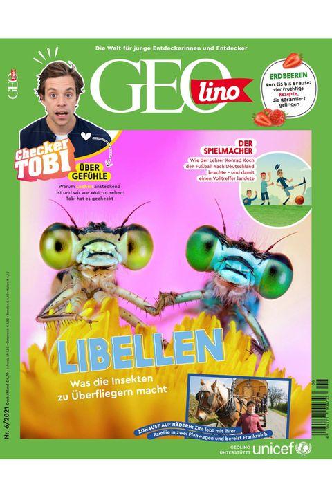 GEOlino Magazin Ausgabe 06-2021