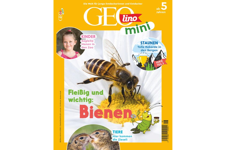 GEOlino Mini Ausgabe 06-2021