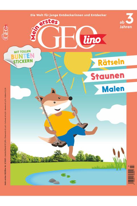 Mein erstes GEOlino Ausgabe 03-2021