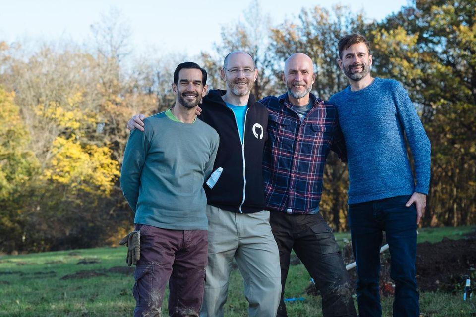 Ökologische Waldbewirtschaftung: Björn Clüsserath, Nils Reinhardt, Dr. Anselm Schneider und Marc Weppler – Die Köpfe hinter Woodify