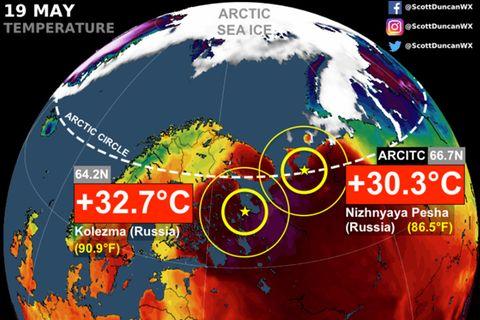 Klimawandel: Bikiniwetter am Polarkreis: Nordwesten Sibiriens ächzt unter Hitzewelle
