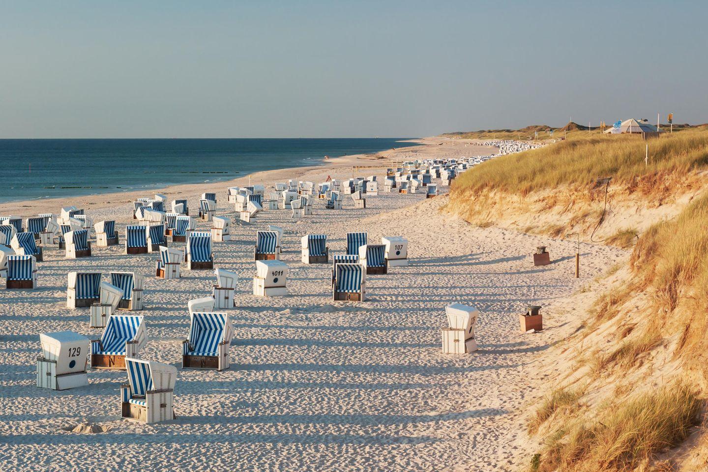 Strand von Kampen auf Sylt
