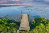 Steg ins Wattenmeer