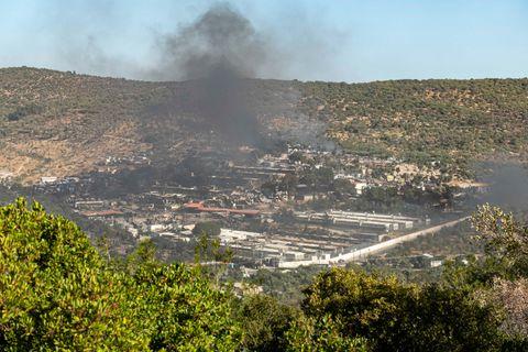 Tag drei der Brände im Flüchtlingscamp Moria