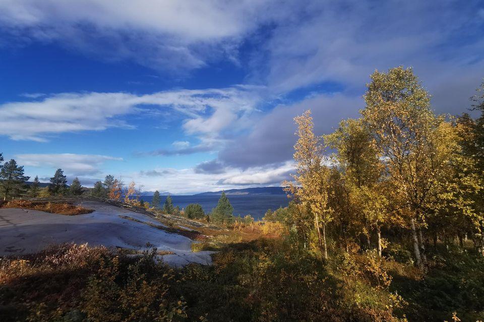 Fjord am Nordpolarmeer