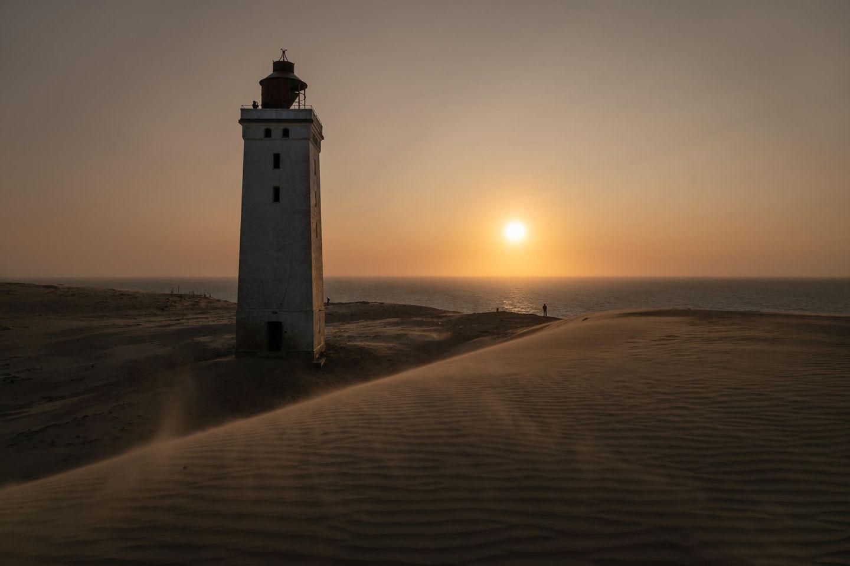"21.05.2021      ""Rubjerg Knude Fyr bei Sonnenuntergang.""  Kamera:Nikon Z6  Mehr Fotos vonPhotoHoni"