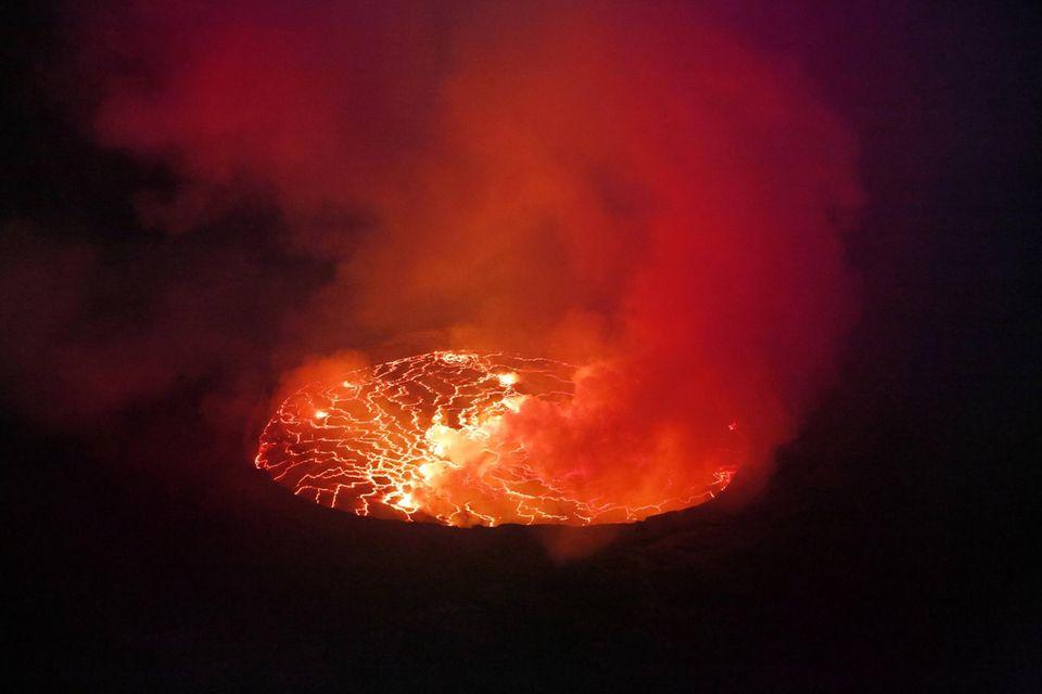 """Vulkanausbruch im Kongo: """"Die schwierigsten Umstände, die man sich vorstellen kann"""""""