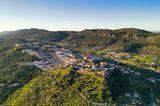 Luftbild über Serra de São Mamede