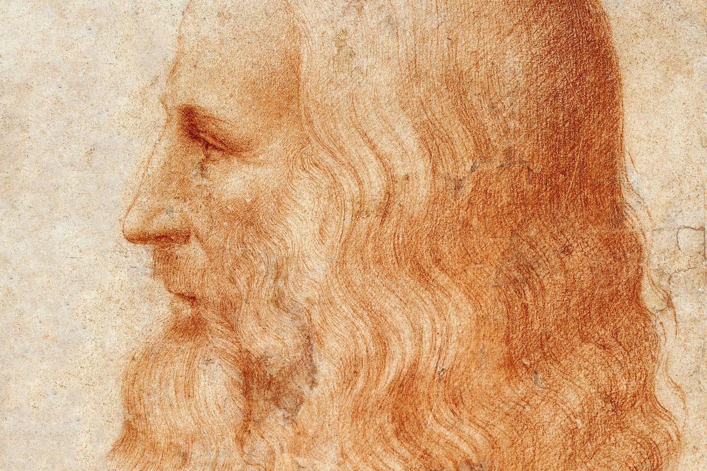 Wahrscheinlich nur ein einziges Porträt zeigt verlässlich die Züge Leonardo da Vincis, der schon für seine Zeitgenossen ein Rätsel war: Es ist diese Zeichnung, die sein Schüler Francesco Melzi um 1518 fertigt – kurz vor dem Tod des Meisters