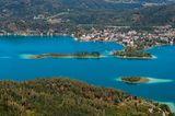Blick auf den Wörther See