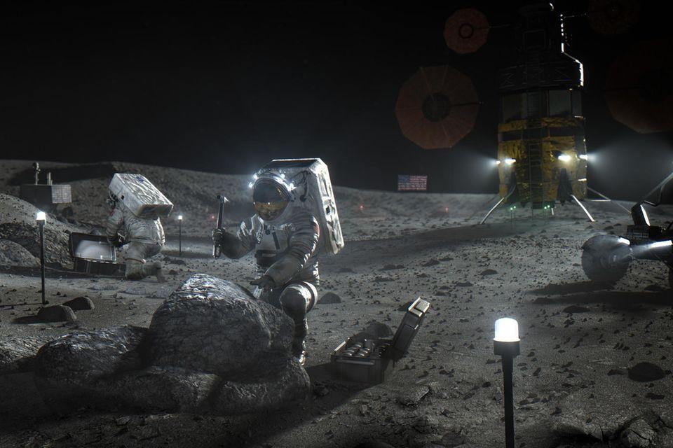 Raumfahrt: Der neue Wettlauf zum Mond