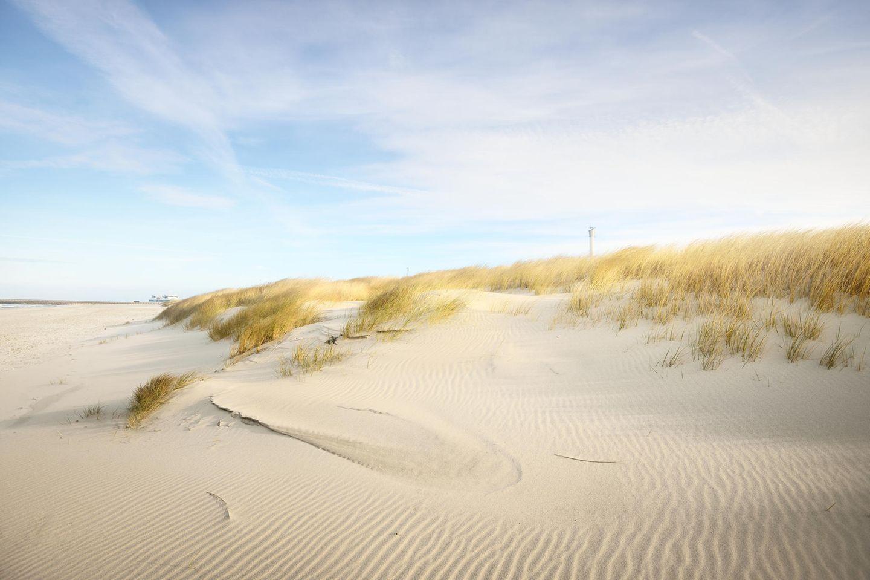 Strand auf der dänischen Insel Anholt