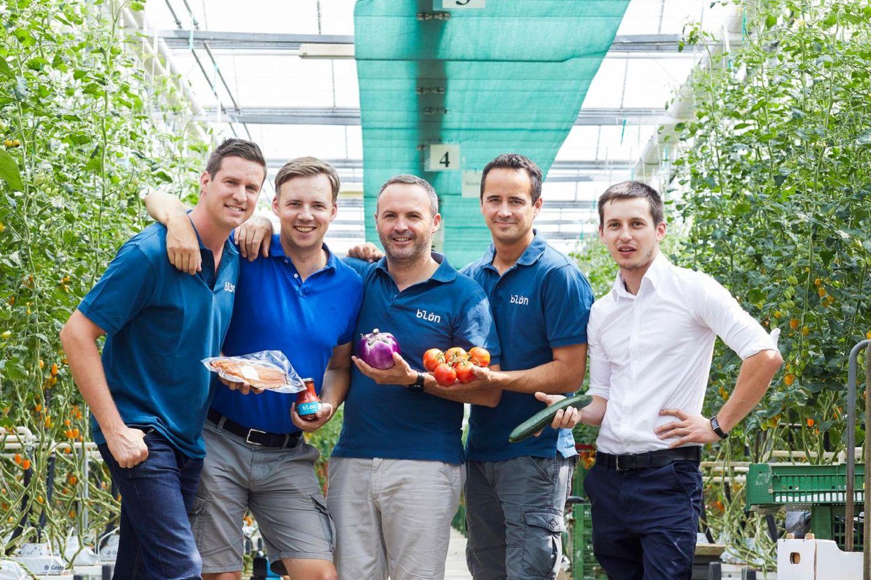 Die fünf Landwirte von Blün in Wien