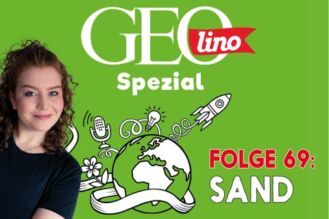 In Folge 69 unseres GEOlino-Podcasts geht's um Sand