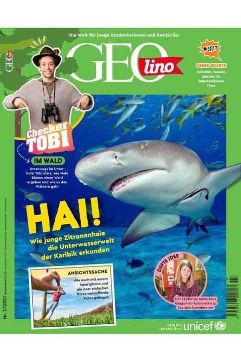 GEOlino Magazin Ausgabe 07-2021