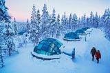 Kakslauttanen Arctic Resorts – Eisiglus in Lappland