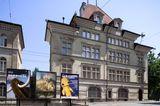 Blick auf das Museum für Kunst und Geschichte Fribourg