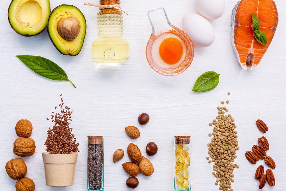 Die richtige Ernährung spendet Energie