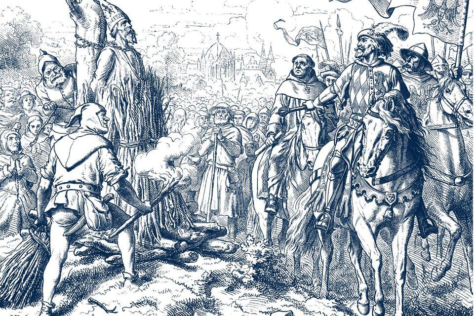Konzil von Konstanz: Schauprozess gegen Jan Hus: Man lockte ihn mit Sicherheit – und schickte ihn ins Feuer