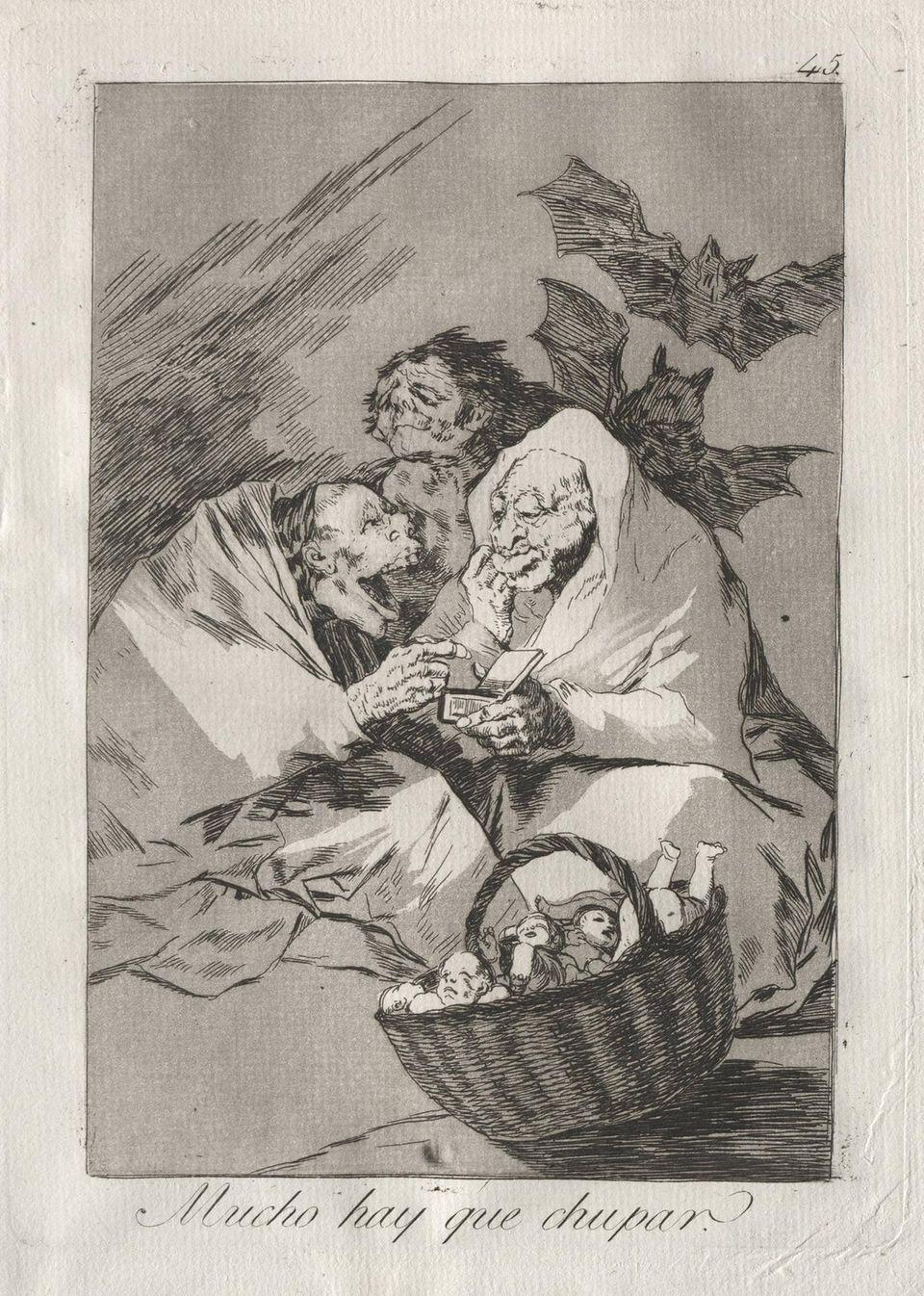 """Francisco de Goyas """"Los Caprichos"""""""