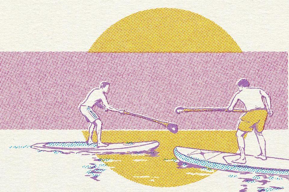 Wassersport: Frische Ideen für neue SUP-Abenteuer
