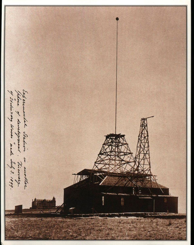 Nikola Teslas Versuchsstation in der Wüste bei Colorado Springs