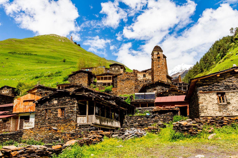 Dartlo, das schönste Dorf in Tuschenien