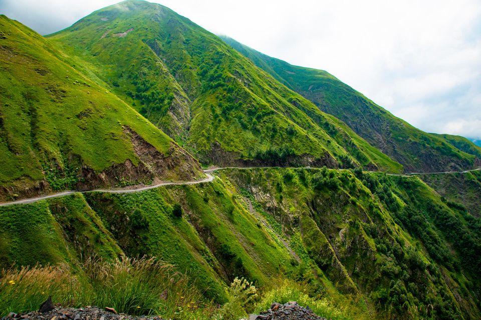 Die gefährlichste Straße im Albano Pass