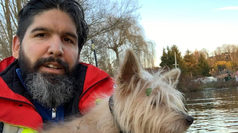 Tierrettung Essen rettet einen Hund
