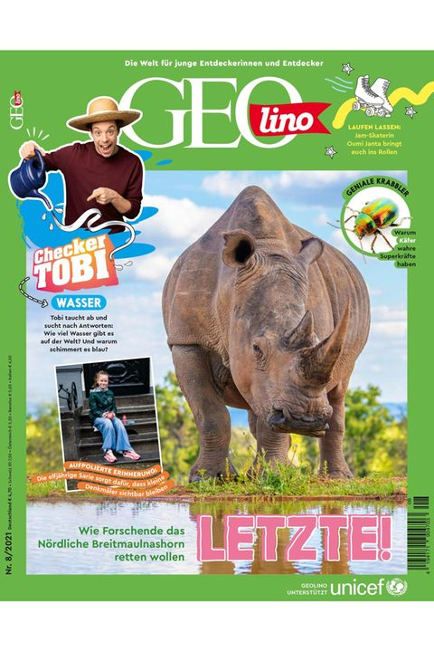 GEOlino Magazin Ausgabe 08-2021