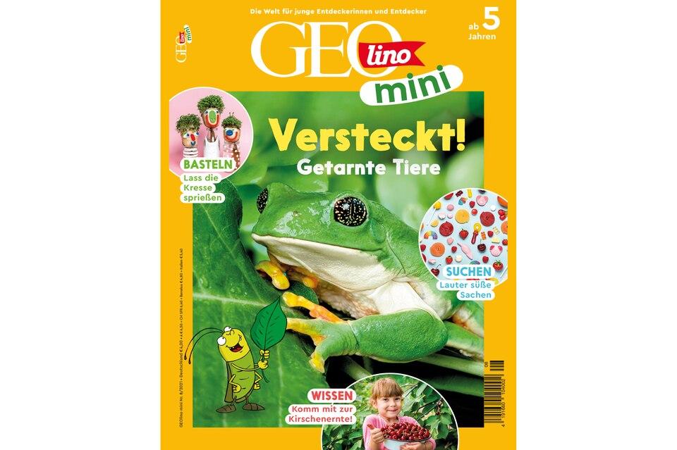 GEOlino Mini Ausgabe 08-2021