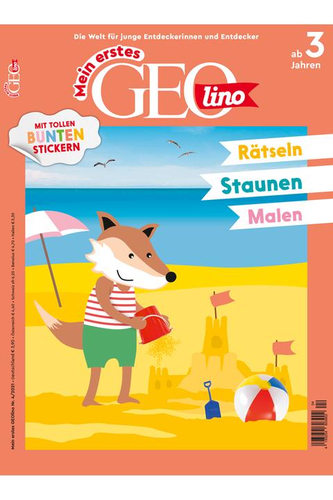 Mein erstes GEOlino Ausgabe 04-2021