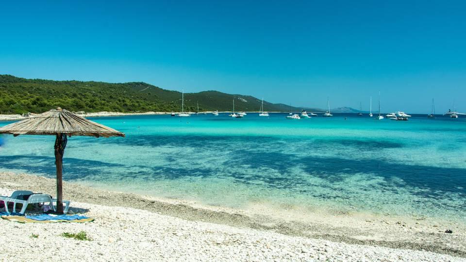Sakarun einer der schönsten Strände in Kroatien