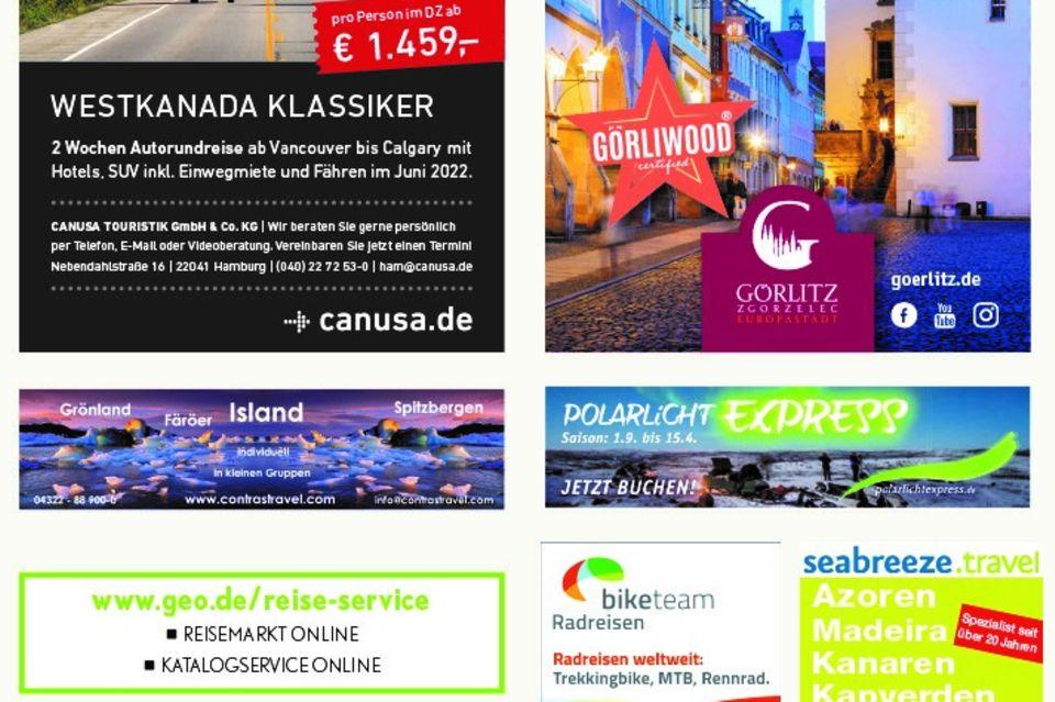 - Werbung -: Reisemarkt August 2021