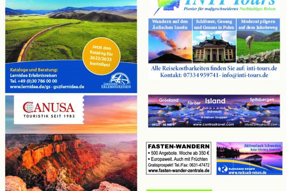 - Werbung -: Reisemarkt September 2021
