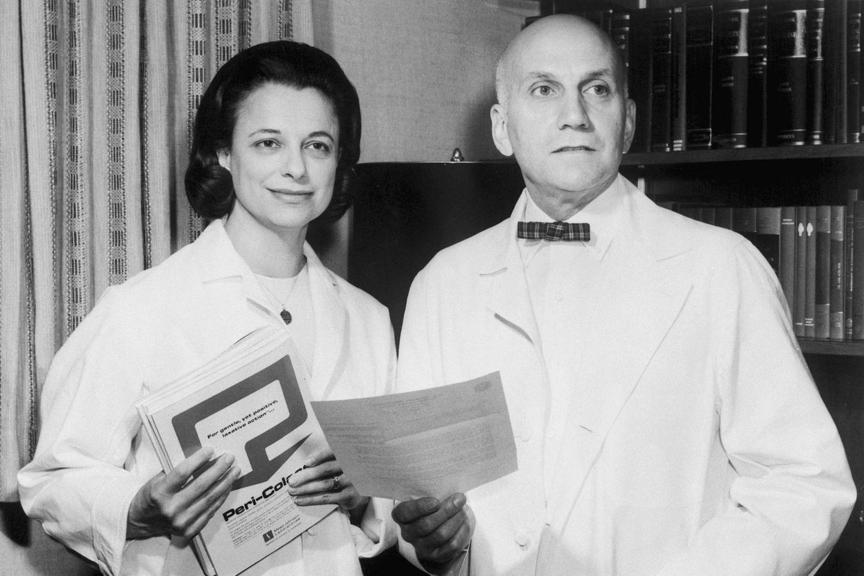 Virginia Johnson und William Masters (hier 1965) machten Sex zum Gegenstand medizinischer Forschung