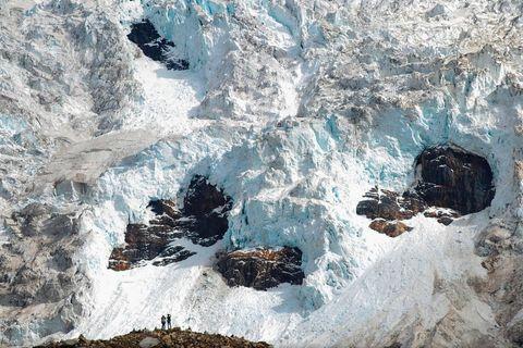 Midui-Gletscher in Tibet