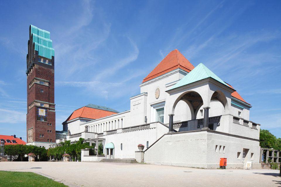 Hochzeitstrum und Ausstellungsgebäude auf der Mathildenhöhe