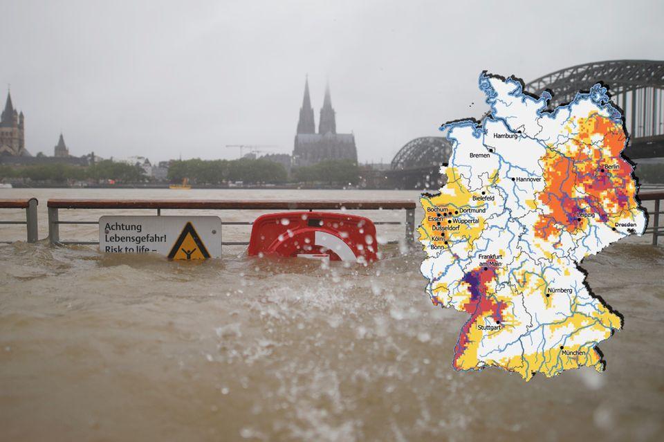 Hitze, Dürre Starkregen: Eine neue Risikoanalyse beschreibt erstmals umfassend, was auf Deutschland zukommt