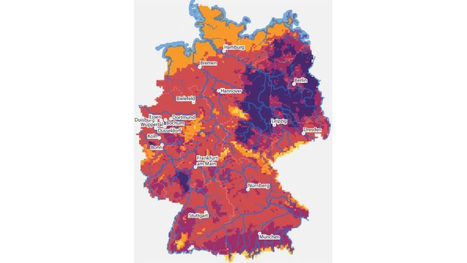Hitze, Trockenheit, Starkregen: Bis zum Ende des Jahrhunderts könnte ganz Deutschland zu einem Risiko-Hotspot des Klimawandels werden