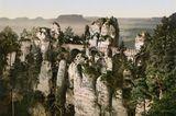 Basteibrücke vom Ferdinandstein aus