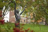 Denkmal für den Dichter Gottfried Schwab von Bildhauer Ludwig Habich