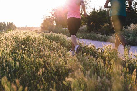 Einfach laufen: mit der richtigen Technik entfaltet Bewegung für den Körper wohltuende Wirkung