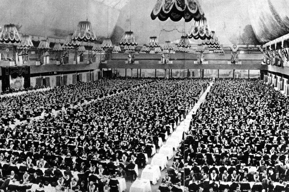 Freimaurer-Treffen im Jahr 1925