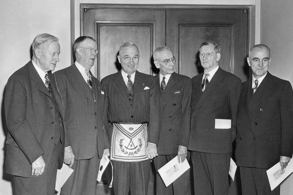 US-Präsident Harry Truman war Freimaurer
