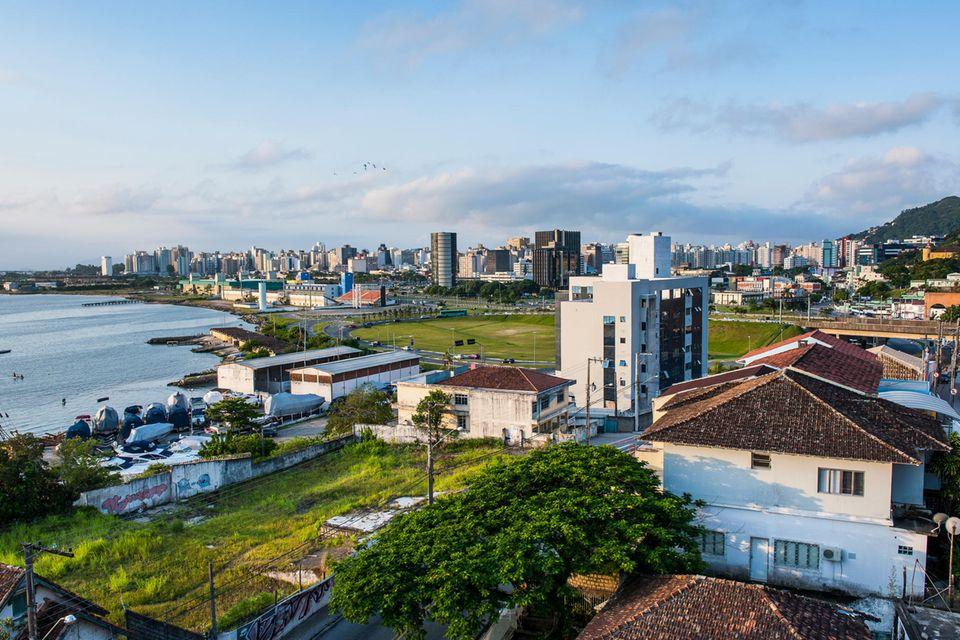 Blick über Florianópolis