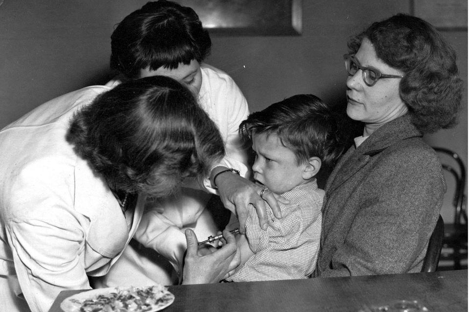 Seit den 1950er-Jahren gibt es einen Polioimpfstoff